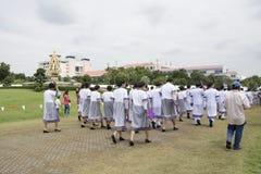 Nowe pokolenie absolwenta licencjat Zdjęcia Royalty Free