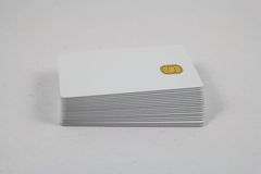 Nowe układ scalony karty Zdjęcia Stock