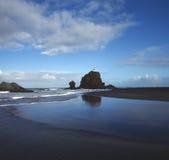 nowe Zelandii plaży Zdjęcia Stock
