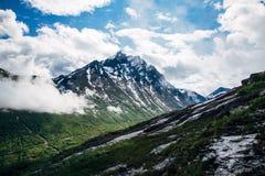 Nowegian góry obrazy royalty free