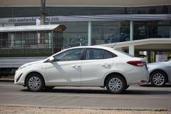 Nowego Intymnego sedanu Toyota Yaris ATIV Eco samochodowy samochód Obraz Royalty Free