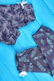 Nowego projekta bawełniani spodnia dla dzieciaków Fotografia Royalty Free