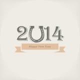 2014 nowego roku Zdjęcie Stock
