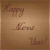 Nowego roku abstrakcjonistyczny tło Zdjęcie Royalty Free