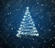 Nowego Roku drzewo Fotografia Stock