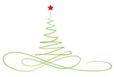 Nowego Roku drzewo Obrazy Royalty Free
