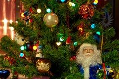 Nowego roku drzewo. Zdjęcia Stock