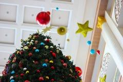 Nowego roku drzewo Obraz Royalty Free