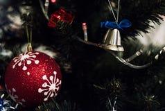 Nowego roku drzewo Zdjęcia Royalty Free
