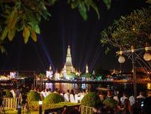 Nowego Roku fajerwerk Tajlandia Zdjęcie Royalty Free
