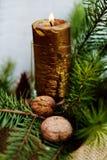 Nowego Roku i bożych narodzeń dekoracja Zdjęcie Stock