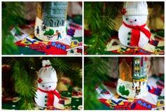 Nowego Roku i bożych narodzeń dekoracja Zdjęcie Royalty Free