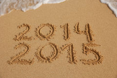 Nowego Roku 2015 nadchodzący pojęcie Zdjęcie Stock