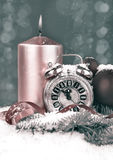 Nowego Roku obliczenia puszek, stonowany wizerunek Obrazy Royalty Free
