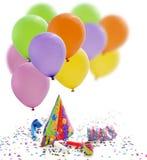 Nowego roku partyjny urodzinowy tło Zdjęcia Stock
