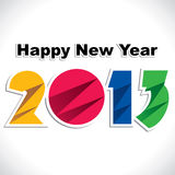 Nowego Roku powitanie Zdjęcie Royalty Free