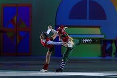 Nowego Roku przedstawienia dach Ilya Averbukh Zdjęcie Royalty Free