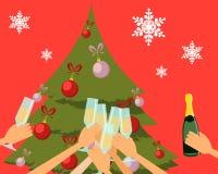 Nowego roku przyjęcie Fotografia Stock