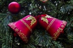 Nowego Roku ręki dzwony Obraz Royalty Free