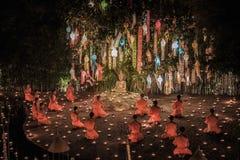 Nowego roku rocznicowy festiwal przy Chaing mai Zdjęcie Royalty Free
