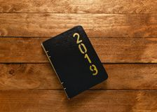 Nowego Roku ` s agenda 2019 zdjęcia royalty free