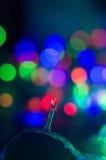 Nowego Roku ` s bokeh Zdjęcia Stock