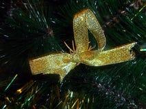 Nowego Roku ` s dekoracyjny złoty zespół Zdjęcie Stock