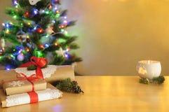 Nowego Roku ` s karta z pustą przestrzenią 02 zdjęcia stock
