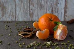 Nowego Roku ` s Tangerine Obrazy Stock