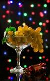 Nowego Roku ` s winogrona Fotografia Royalty Free