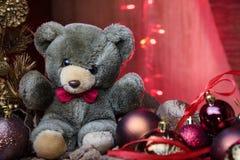 Nowego Roku ` s zabawki Fotografia Royalty Free