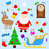 Nowego roku set Fotografia Stock