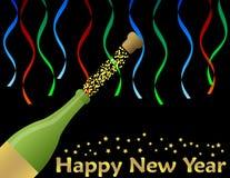 Nowego roku szczęśliwy Tło Obraz Stock