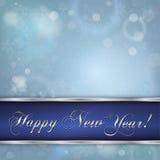 Nowego roku szczęśliwy tło Obraz Royalty Free
