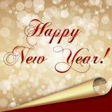 Nowego roku szczęśliwy tło Zdjęcia Royalty Free