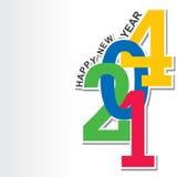 Nowego roku tło Zdjęcia Stock