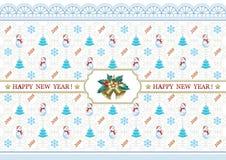 Nowego Roku tło 2018 Fotografia Stock