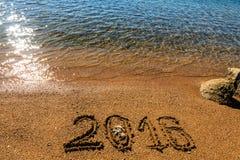Nowego Roku 2016 tło Obraz Stock