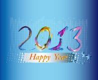 Nowego Roku wakacje ilustracja wektor