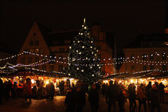 Nowego Roku ` wigilia w Tallinn Fotografia Stock