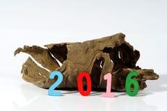 Nowego Roku 2016 znak Fotografia Royalty Free