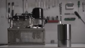 Nowego samochodu automatyczny przekaz DSG i nowy hydroaccumulator, w górę zbiory wideo