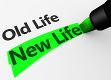 nowego życia Fotografia Stock