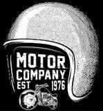 Nowego York jeźdzów motocyklu klubu trójnika graficzny projekt Zdjęcia Stock