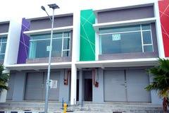 Nowej Dwoistej kondygnaci Handlowy budynek Fotografia Royalty Free