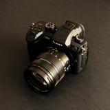 Nowej Panasonic Lumix GH5 i Leica 12-60 kamery obiektyw Zdjęcie Stock