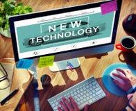 Nowej Technologii innowaci ulepszenia przyrosta pojęcie Fotografia Royalty Free
