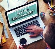 Nowej Technologii innowaci ulepszenia przyrosta pojęcie Obrazy Stock