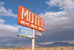 NoWhere Motel Royalty Free Stock Image