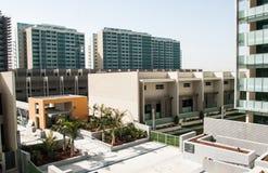 Nowi bloki mieszkaniowi, Abu Dhabi Obraz Stock